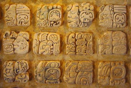 Glyph, Mesoamerica