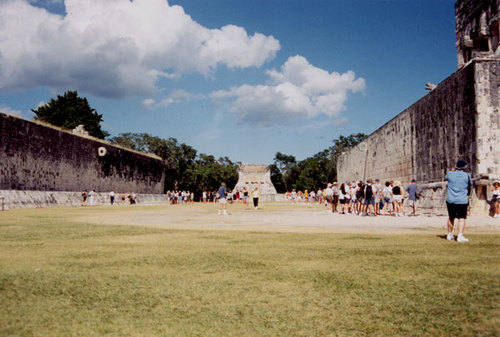 Great Ballcourt, Chichen Itza