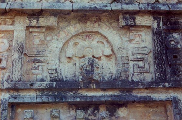 Mayan rain god Chac, Chichen Itza