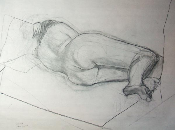Woman Laying