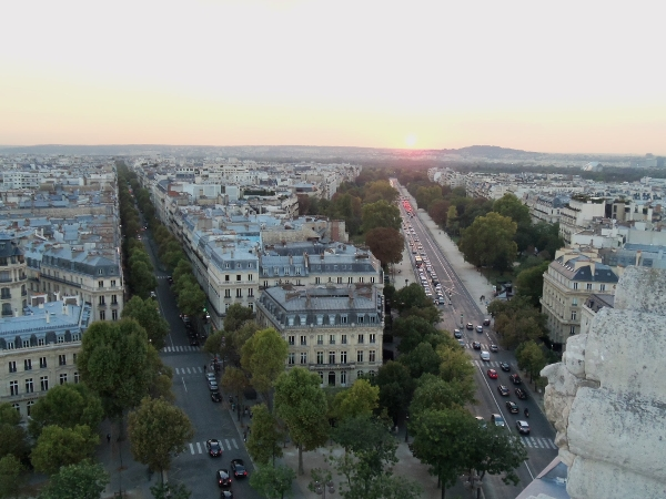 Paris from Arc de Triomphe1
