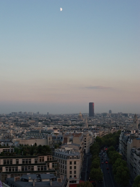 Paris from Arc de Triomphe3