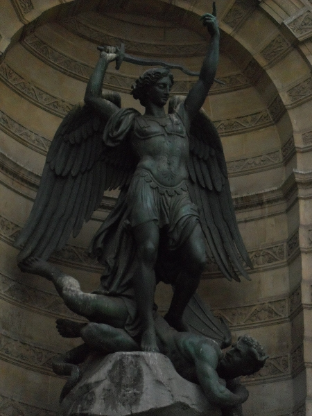 St Michael-Lucifer