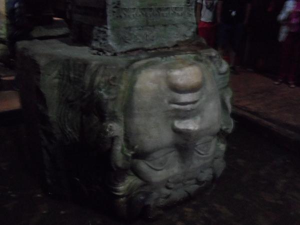 Basilica Cistern Istanbul Medusa1