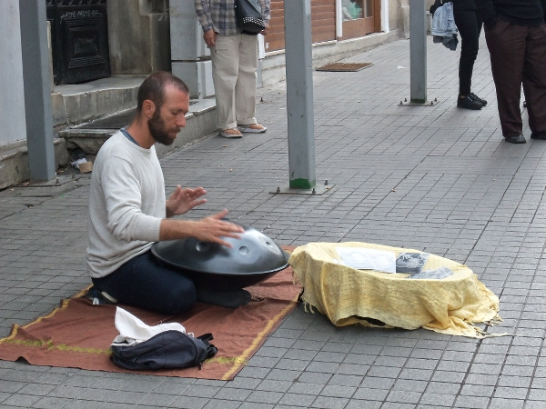 Istanbul Street Musician